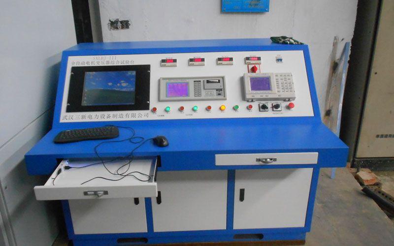 山东莱钢变压器综合测试台现场试验图